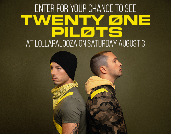 Want to See Twenty One Pilots?