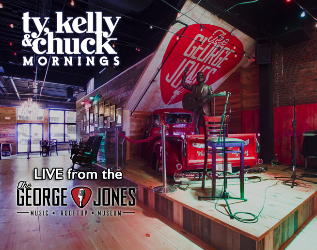 UPDATED: Artists Joining Ty, Kelly & Chuck LIVE at The George Jones for CMA Fest 2018
