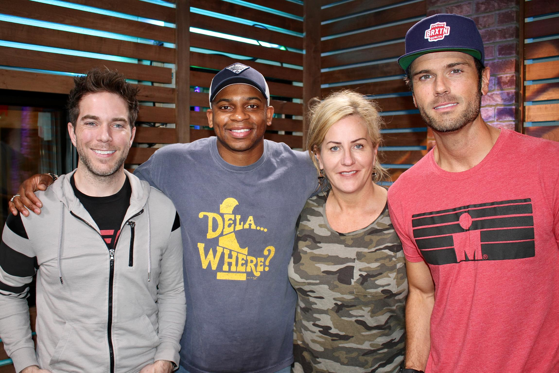 "Jimmie Allen Performs ""Best Shot,"" Gushes with Chuck Wicks Over Delaware & MORE"
