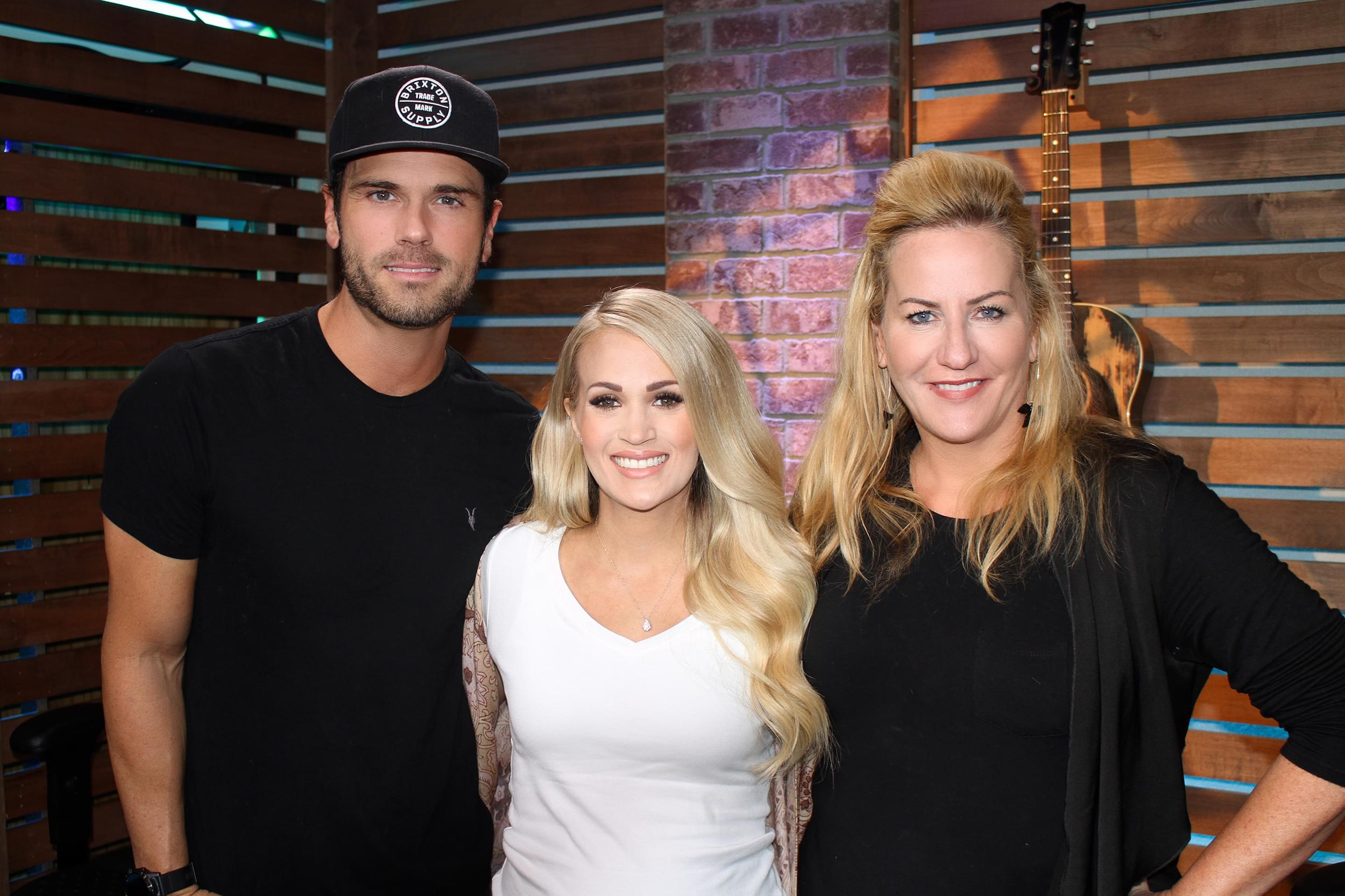 Carrie Underwood Makes Chuck Wicks Question His Friendship with Brad Paisley, Weighs in on Ty Bentli Wearing a Suit to His Son's Birth & MORE