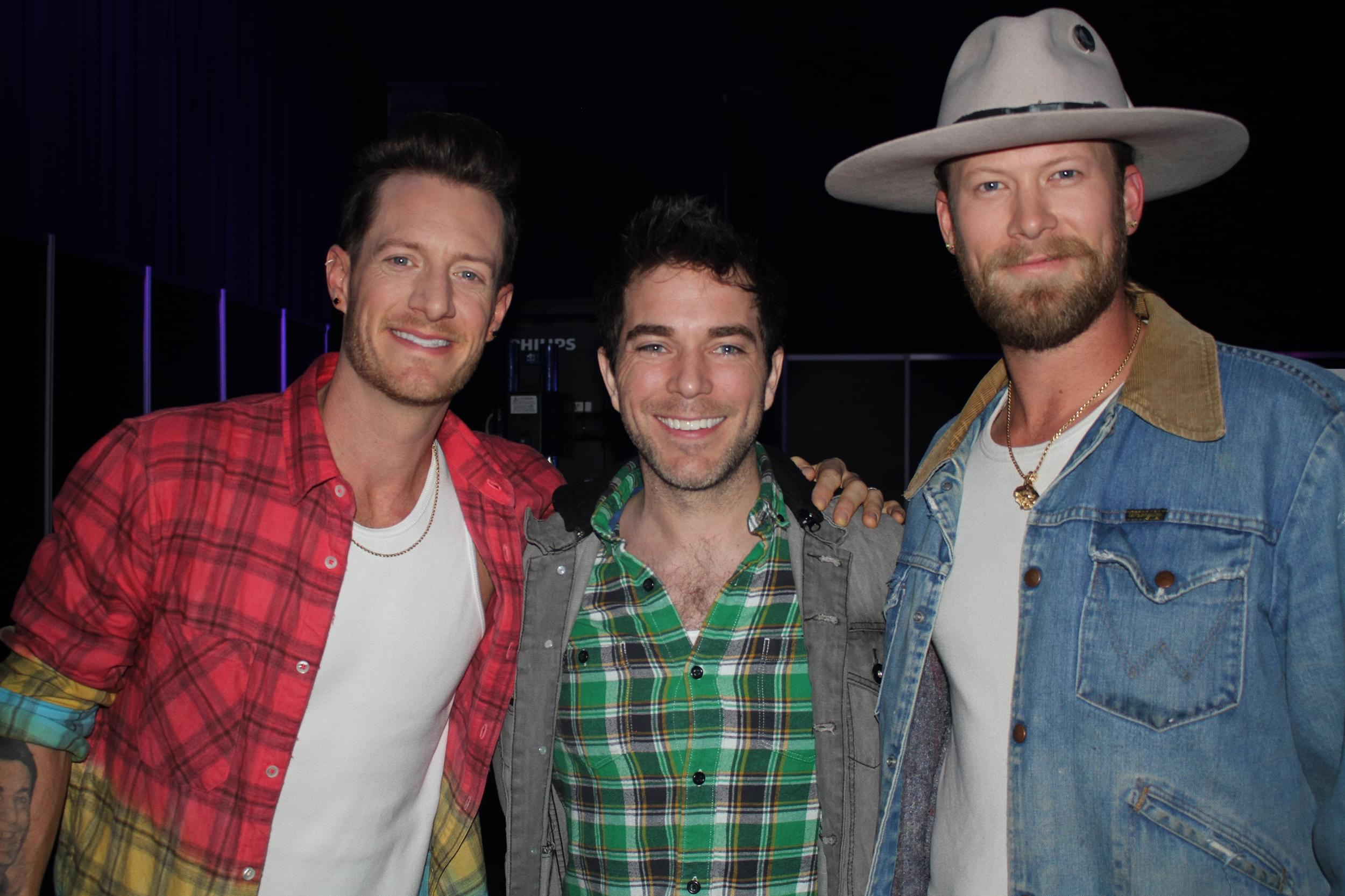 Backstage at the CMA Awards Rehearsals with FGL, Luke Combs, Chris Janson & Old Dominion
