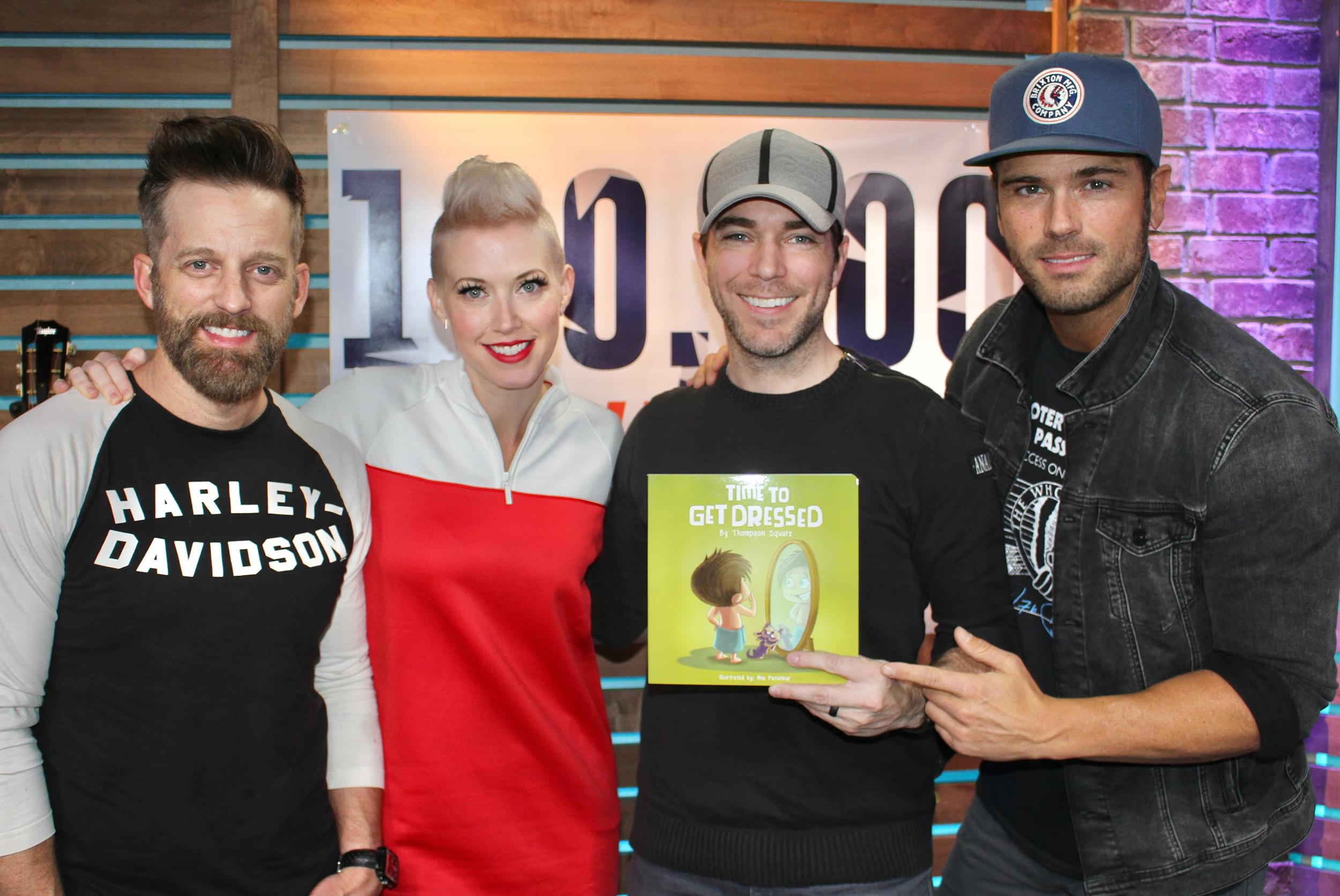 Thompson Square Shows Off Their New Children's Book, Talks Performing for Our Troops, 100,000 Thank Yous & MORE
