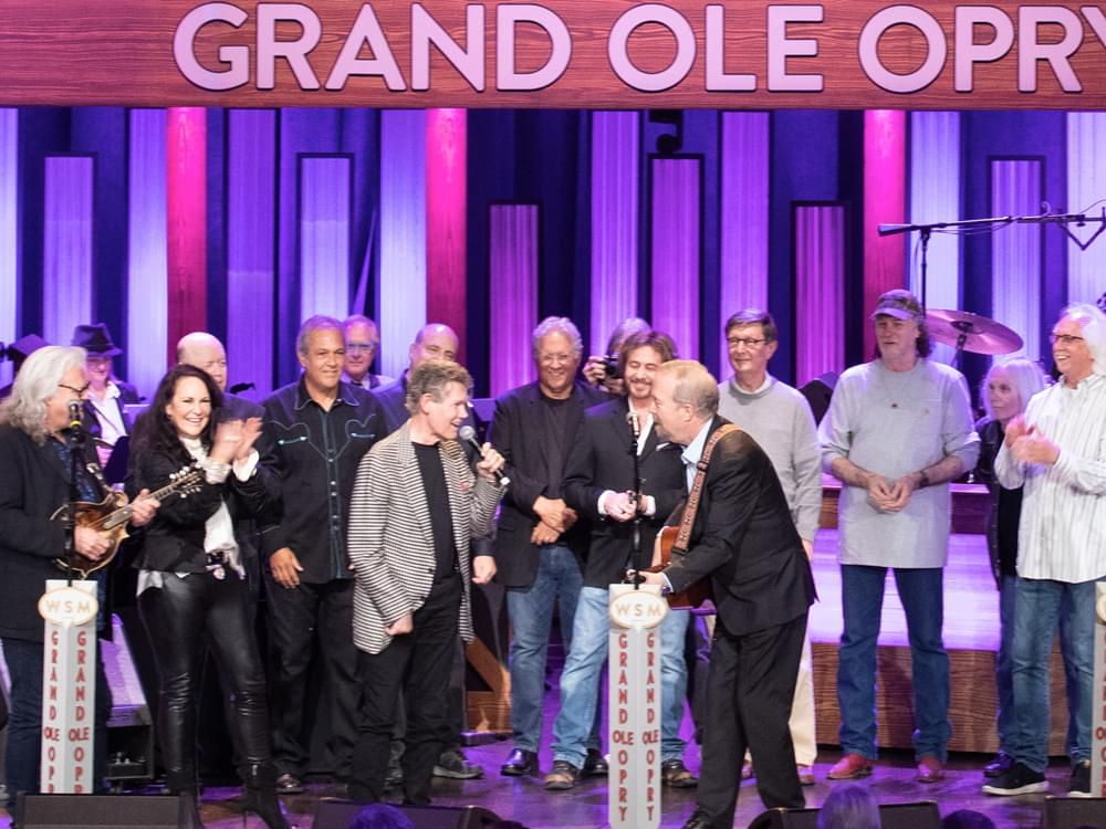 Amen! Randy Travis Gets Hero's Salute During 60th Birthday Celebration at the Grand Ole Opry [Watch]