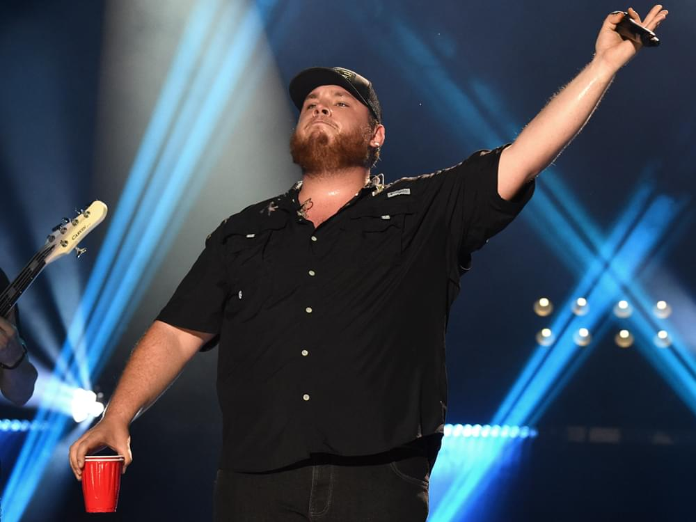 "Listen to Luke Combs' Spirited New Single, ""Beer Never Broke My Heart"""