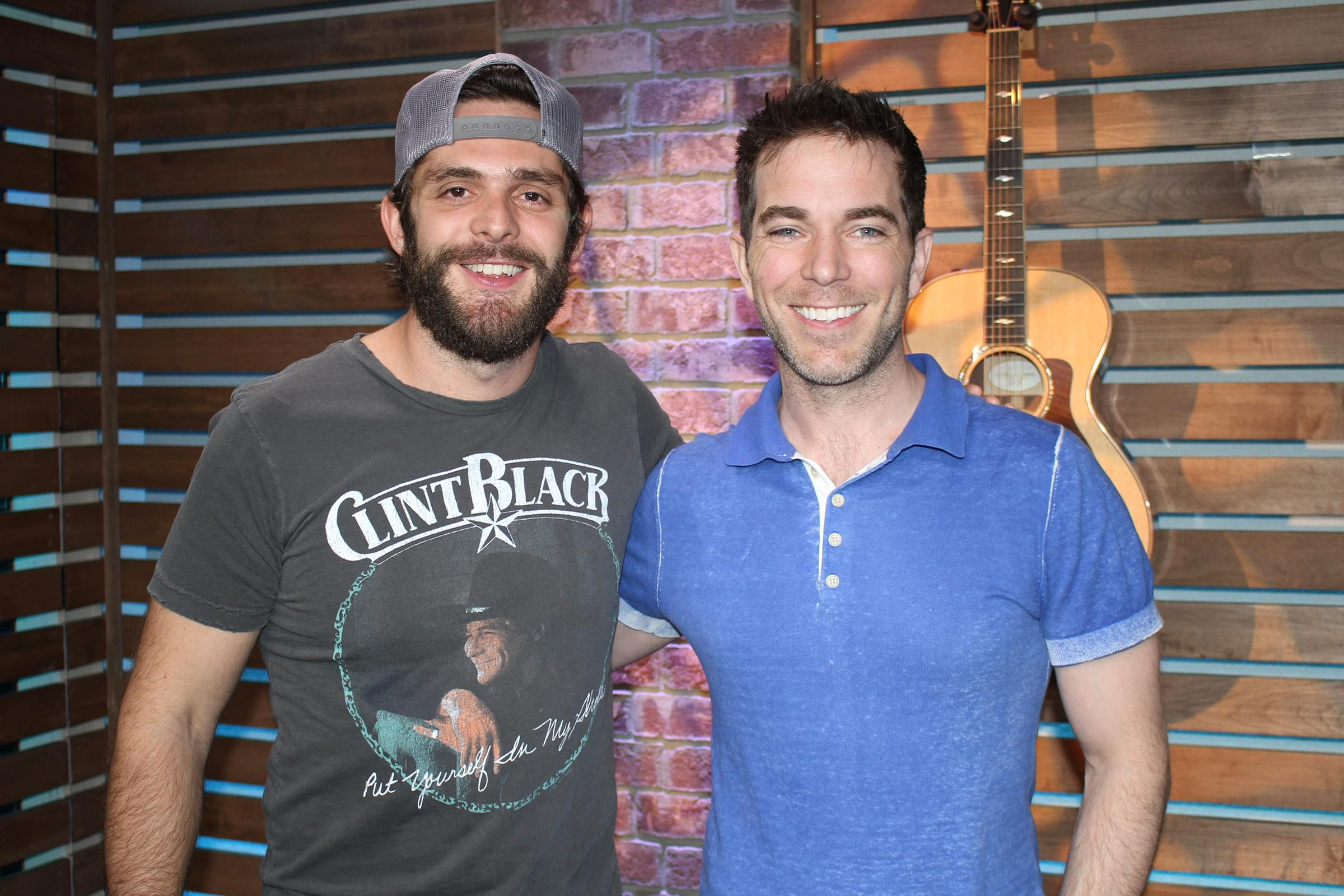 """Thomas Rhett Discusses the Significance of Center Point Road, Reveals How Many Children He & His Wife Want, Shares """"Firsts"""" from Growing Up & MORE"""