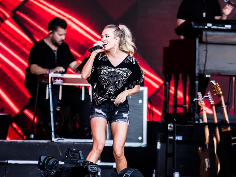 """Watch Thousands of Fans Sing Along as Carrie Underwood Closes Her UK Show With """"Before He Cheats"""""""
