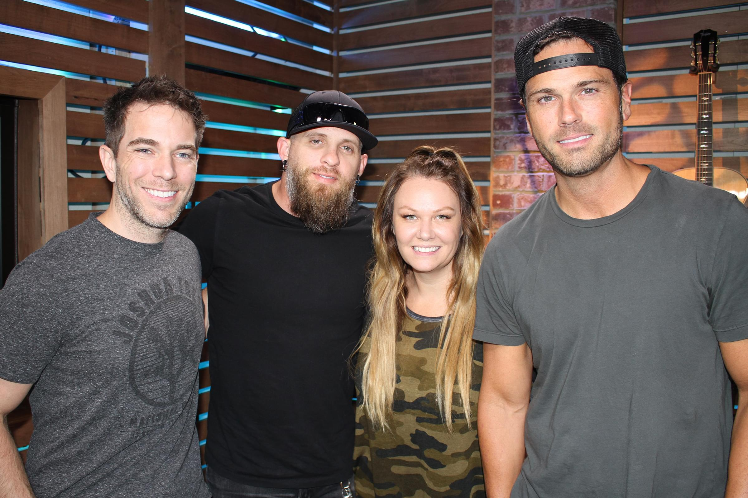 Brantley Gilbert Reveals How He Got Detained at the Airport, Recording New Music in Tupac's Recording Studio, & MORE