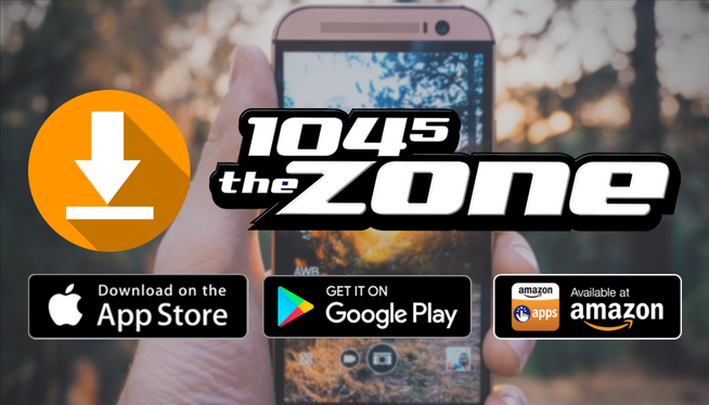 Download the 104-5 The Zone App Here!