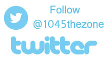 Follow @1045thezone on twitter