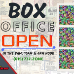 104-5 The Zone's Box Office