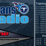 Titans 2018 Training Camp Schedule