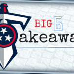 Big 6 Blog: Big 6 Takeaways (TEN vs. JAX – TNF)