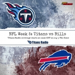 Titans-Bills, Game Day Information