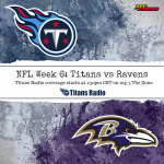Titans vs Ravens — TV and Radio Information