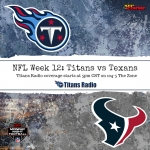 Titans Back in Texas for Monday Night Football