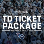 Twice Daily Ticket Special – Thursday Night Football