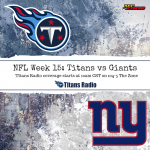 Titans at Giants: NFL Week 15