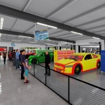 Admissions Now Available for the New Talladega Garage Experience!