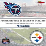 Titans vs Steelers: Game Day Info