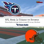 Titans vs Browns Primer