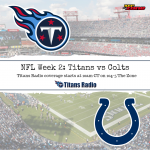 Titans vs Colts Primer