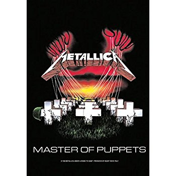 Metallica Expanding Master Of Puppets For Reissue 96