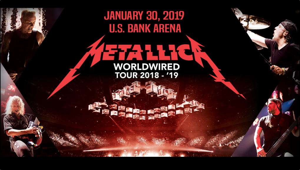 96ROCK Welcomes Metallica to U.S. Bank Arena!