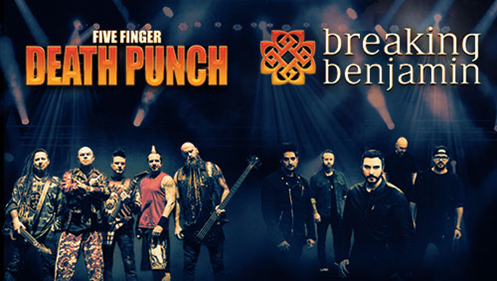 Five Finger Death Punch & Breaking Benjamin with Nothing More