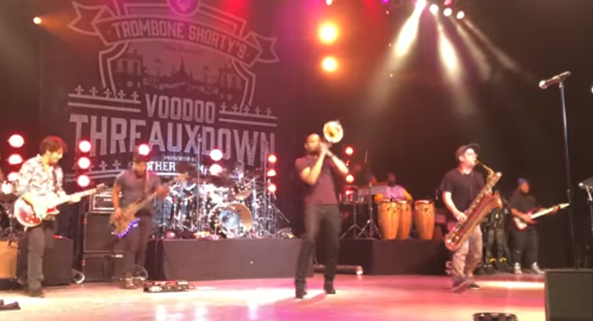 Dave Grohl Joins Trombone Shorty for for Nirvana Cover