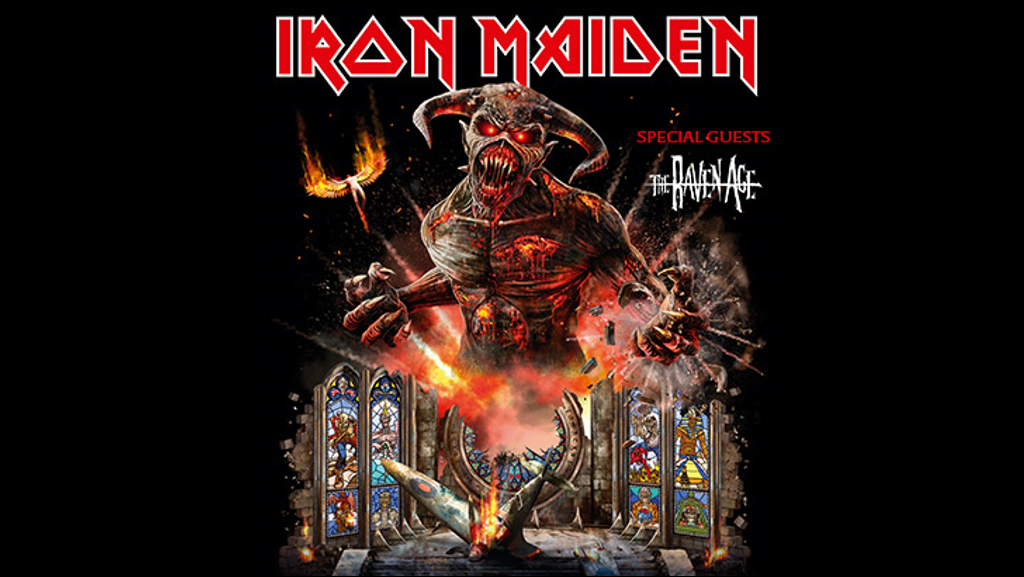 96ROCK Welcomes Iron Maiden