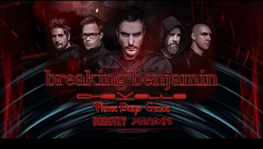 96ROCK Welcomes Breaking Benjamin