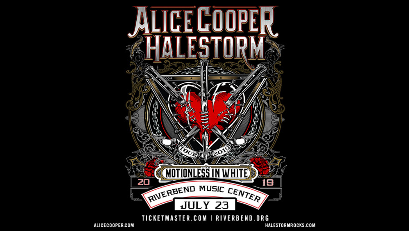 96ROCK Welcomes Alice Cooper & Halestorm