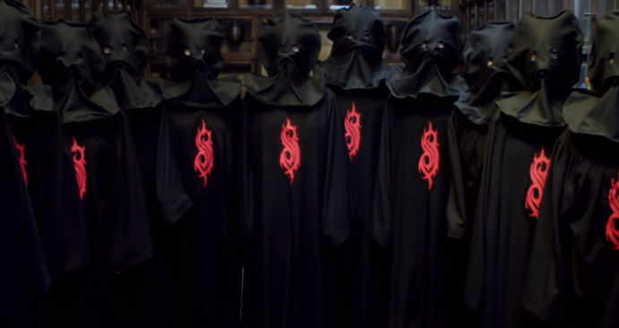 "New Masks, New Music and New Video! Slipknot ""Unsainted"""
