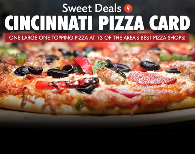 Cincinnati Pizza Card
