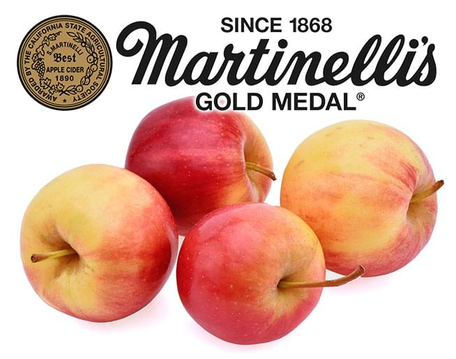 Chris & Janeen interview John Martinelli, CEO of Martinelli's Gold Medal Sparkling Cider