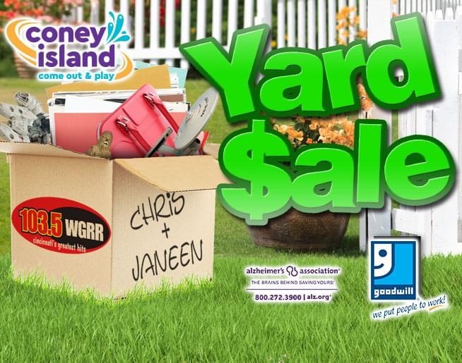 Chris and Janeen Yard Sale 2019