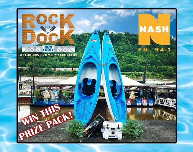 Rock the Bud Light Dock all summer long with NASH 94.1!