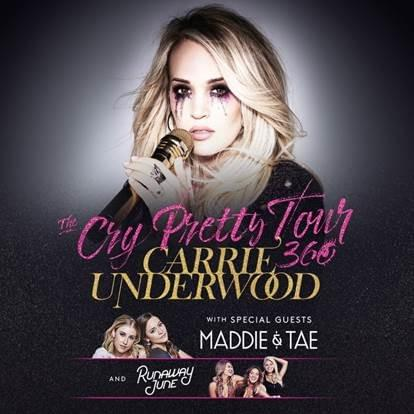 Nash FM Welcomes Carrie Underwood to US Bank Arena