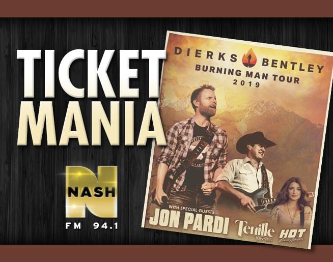 Dierks Bentley Ticket Mania