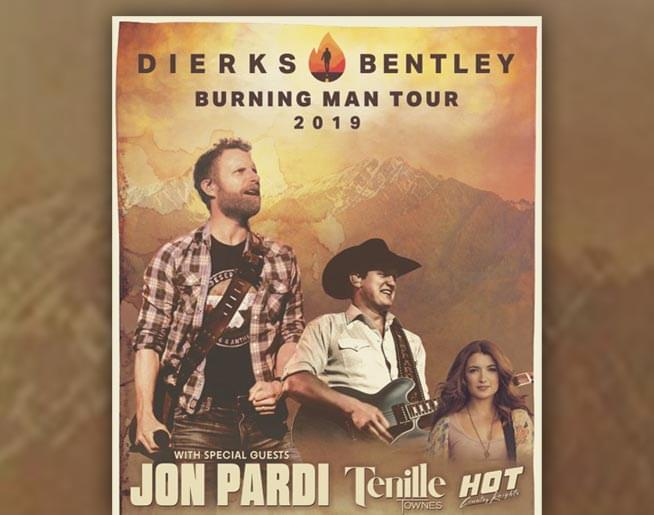 Dierks Bentley: Burning Man Tour 2019