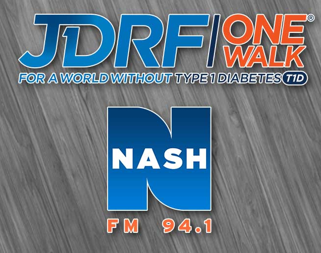 Join Nash at the JDRF One Walk at Kings Island