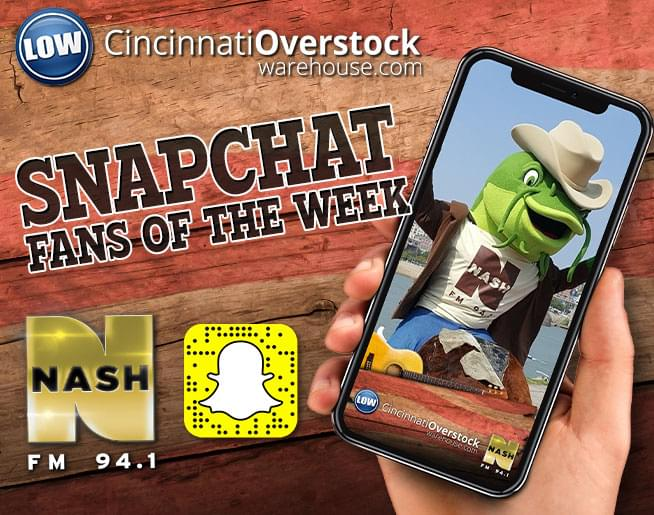 Snapchat Fans of the Week!