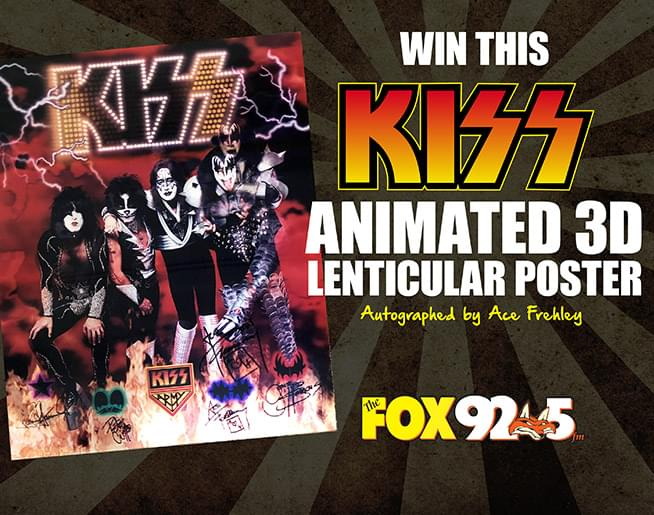 Win this Signed KISS Poster