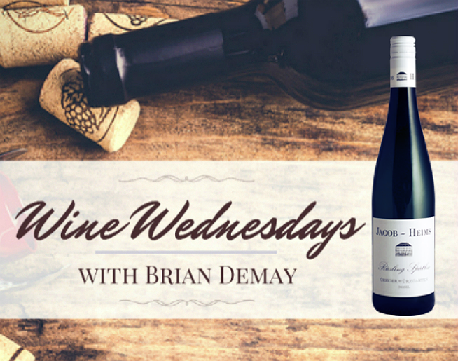 Brian Demay's Wine Wednesday: Jacob Heims Riesling