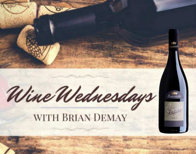 Brian's Wine Wednesday: Lapostolle Cuvée Alexandre Syrah