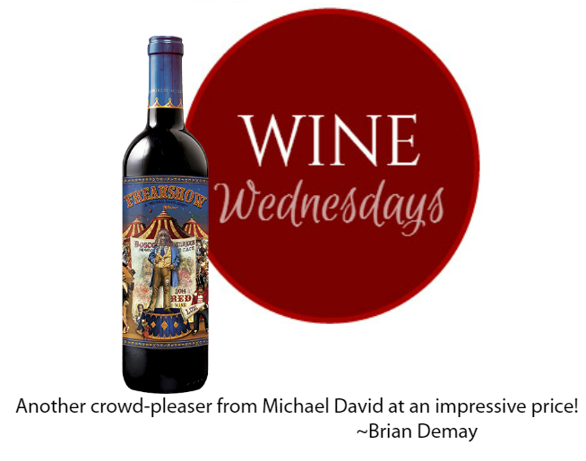 Brian's Wine Wednesday: Freakshow Red Blend
