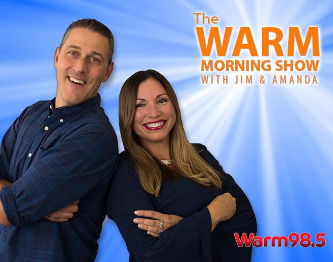 The Warm Morning Show with Jim and Amanda | Warm 98 5 | WRRM-FM
