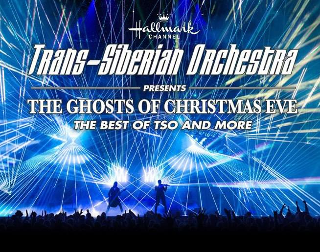"Experience Trans-Siberian Orchestra–""The Ghosts of Christmas Eve–The Best of TSO and More."""