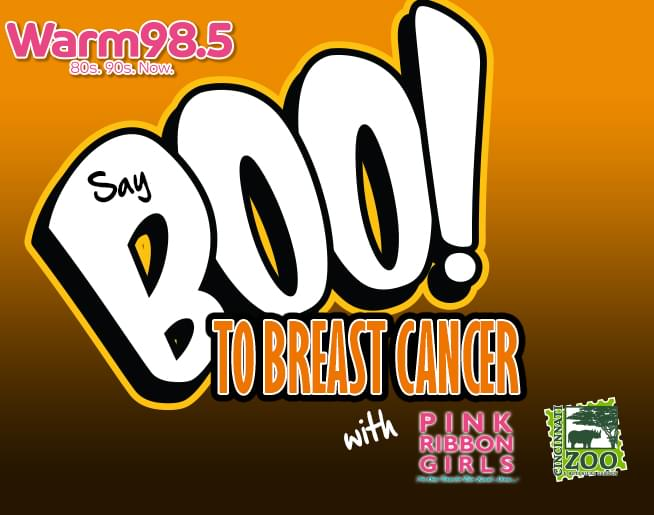 """Say """"BOO"""" to Breast Cancer"""