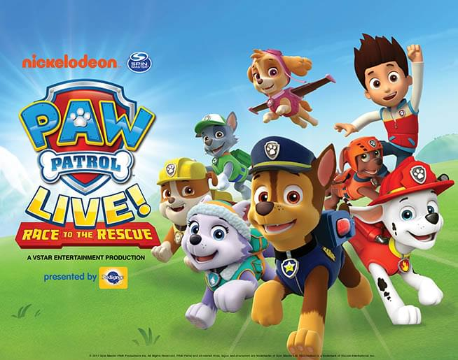 Paw Patrol LIVE! Coloring Contest